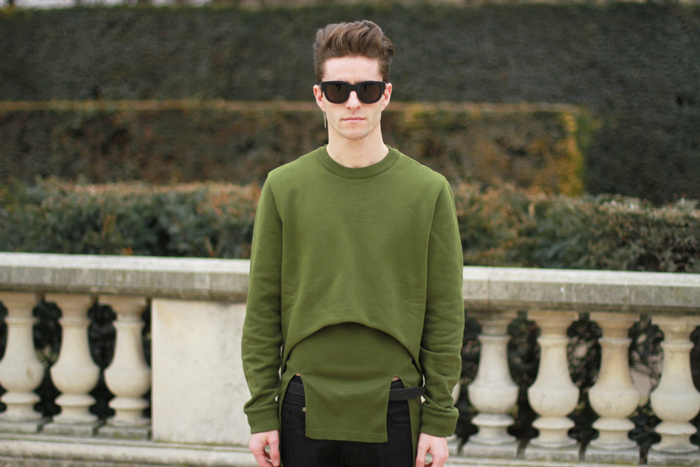 Givenchy military green combo 3