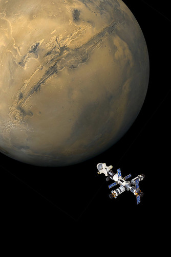 "Earth-Mars Cycler ""Aldrin"" (5)"