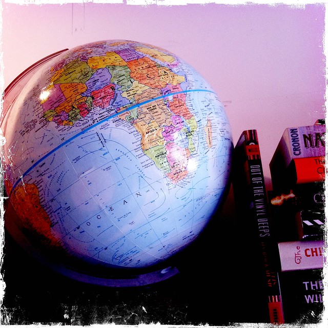 Miniature Office Globe
