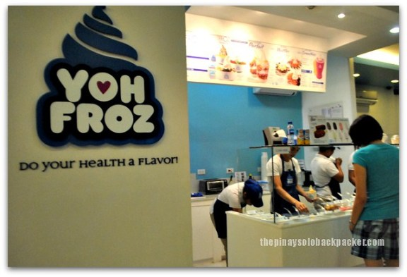 Frozen  yogurt at Yoh Froz Davao City