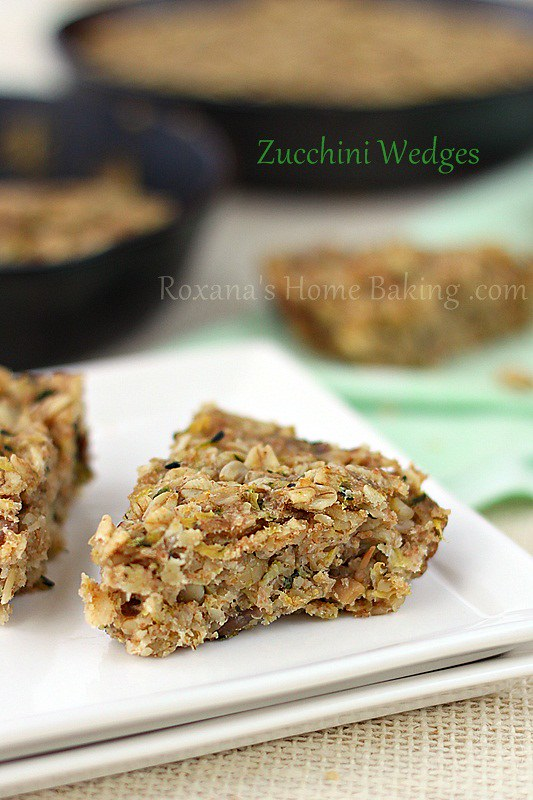 zucchini wedges | Roxanashomebaking.com