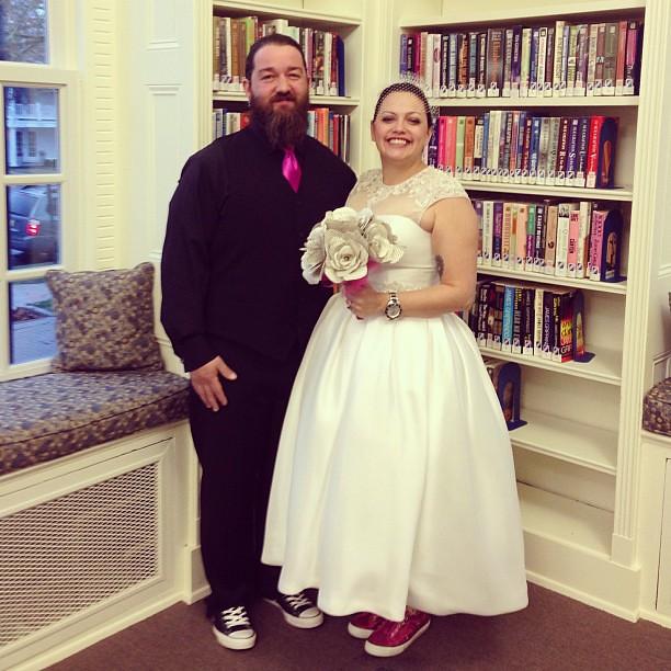 Happy wedding! @2princessmama