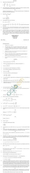 CBSE Board Exam Sample Question Papers Class XII - Maths