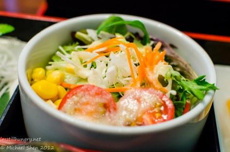 Suminoya - mixed salad