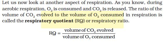 NCERT Class XI Biology: Chapter 14   Respiration in Plants Image by AglaSem