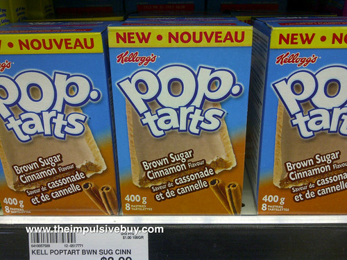 Brown Sugar Cinnamon Pop-Tarts (Canada)