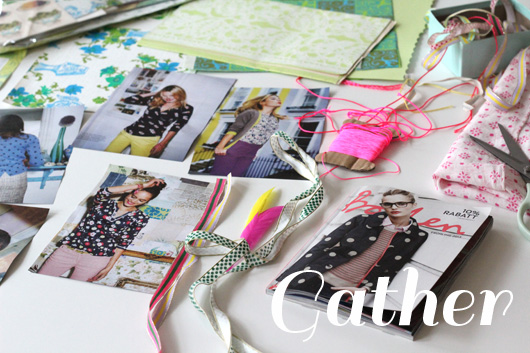 DIY: Catalog To Wall