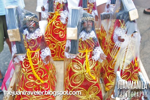 Icons of The Black Nazarene.