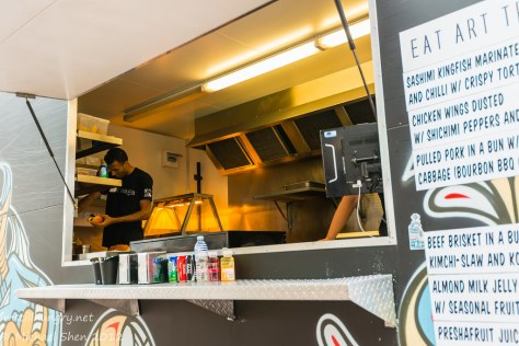 Eat Art Truck - kitchen