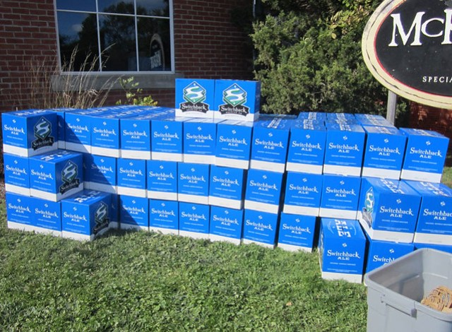 Cases of free Switchback Ale!