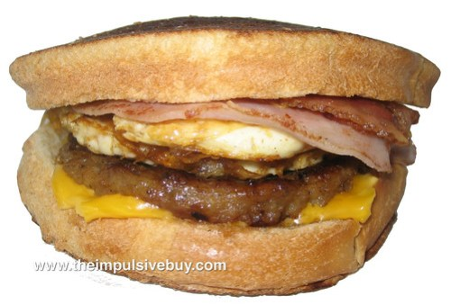 Jack in the Box Loaded Breakfast Sandwich