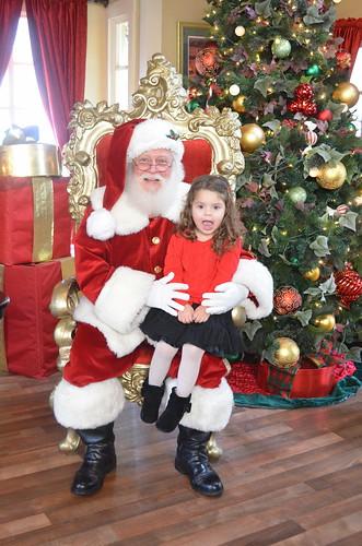 Annabel Meets Santa