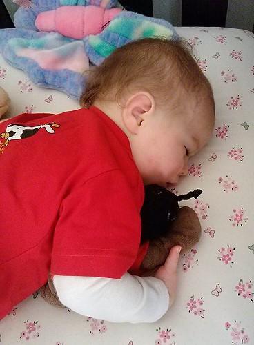 Julianne sleeping- 13 months