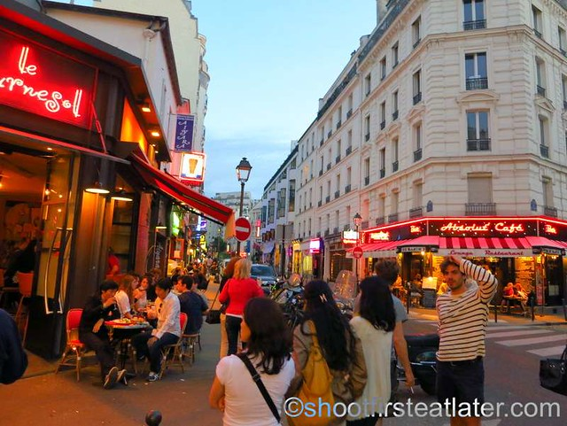 restaurants & shops in Montparnasse