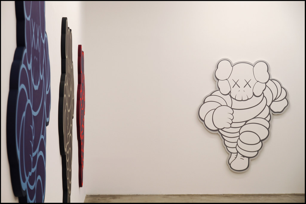 "Tuukka13 - KAWS Exhibition ""Imaginary Friends"" at Galerie Perrotin, Paris - 12.2012 - 2"