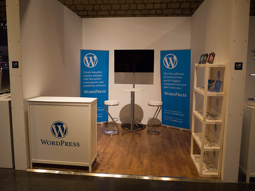 LeWeb'12 Behind the Scenes 23 -- WordPress Booth