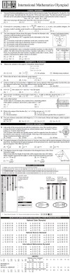 NCO, NSO, IMO & IEO 2014   2015 Class 11 First Level Sample Papers Image by AglaSem