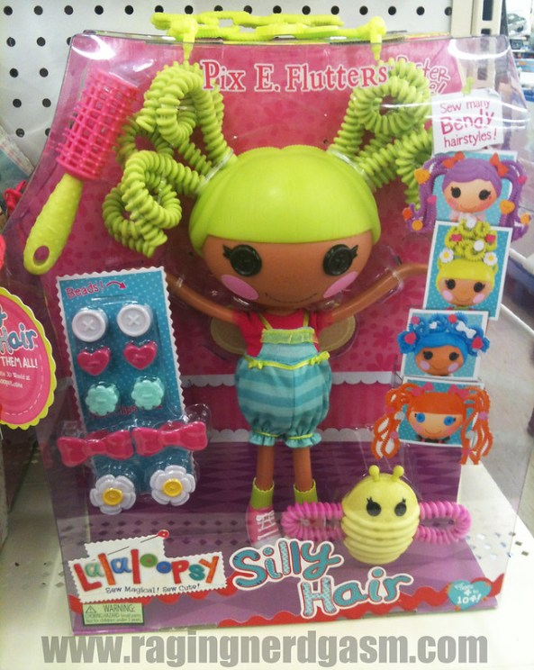 Lalaloopsy Dolls Large Silly HairPix E Flutters 004