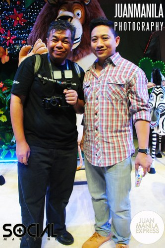 WazUp Philippines'  Ted Claudio with Michael V.