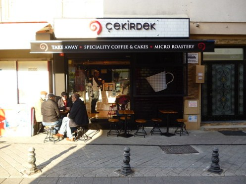 Turkish Coffee Shop Opens in Istanbul