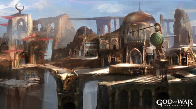 God of War Ascension Concept Art