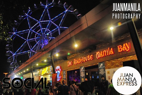 The Roadhouse Manila Bay is located near the SM Mall of Asia Ferris Wheel.