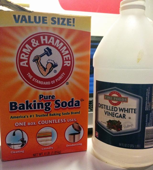 Baking Soda & Vinegar: One of my 2012 Favorites