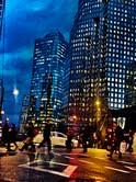 Winter Street Scene | Downtown
