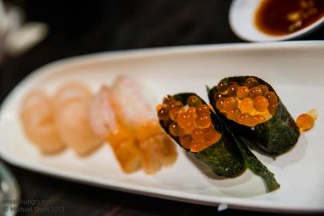 Sushi Samurai salmon roe