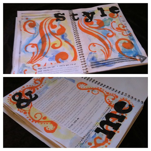 Style - Art Journal Stages 3,4 & 5