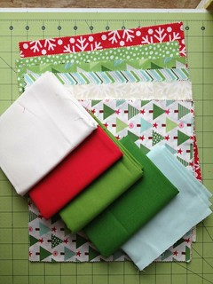 Virtual Quilting Bee fabric
