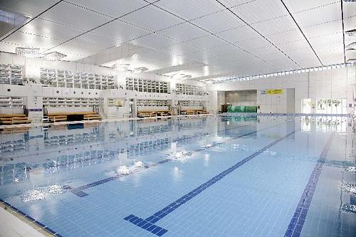 顯田游泳池 50米室內暖水主游泳池
