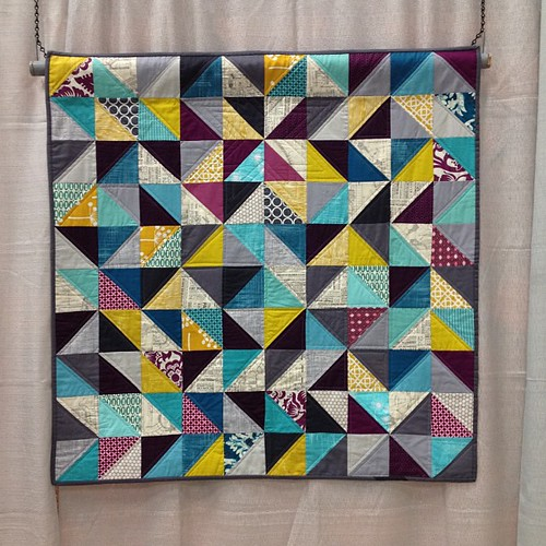 Streetscape--one of my quilts is in the show! #quiltcon