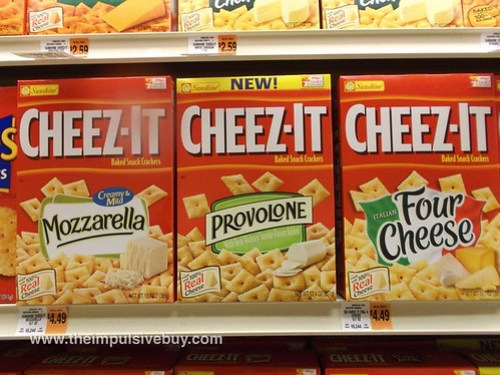 Cheez-It Provolone
