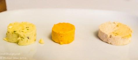 Prime - Mushroom, tomato & chorizo, pistachio butter