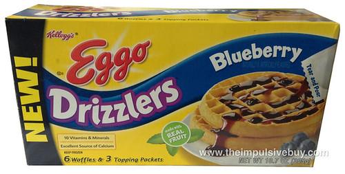 Kellogg's Blueberry Eggo Drizzlers
