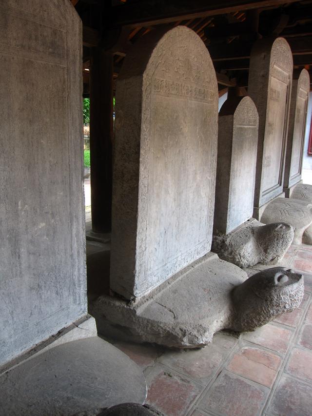 Turtle stelae