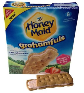 Nabisco Honey Maid Strawberry Yogurt Creme Grahamfuls