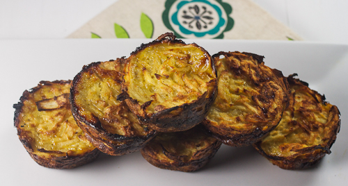 Individual Three Potato Kugel for Passover