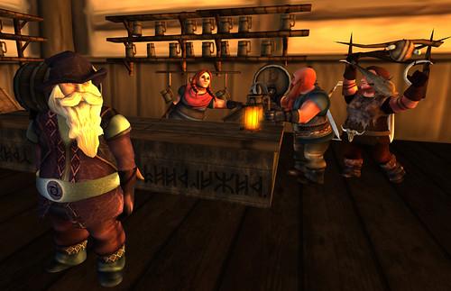 Dwarfins Bar Brawl