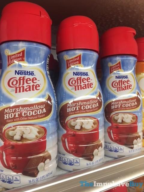 Limited Edition Nestle Coffee-mate Marshmallow Hot Cocoa Creamer