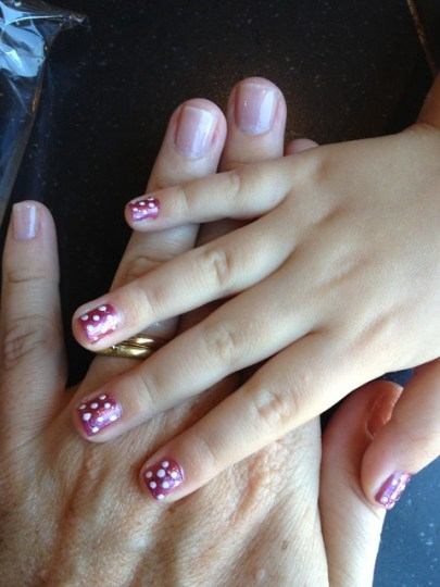 our pretty nails