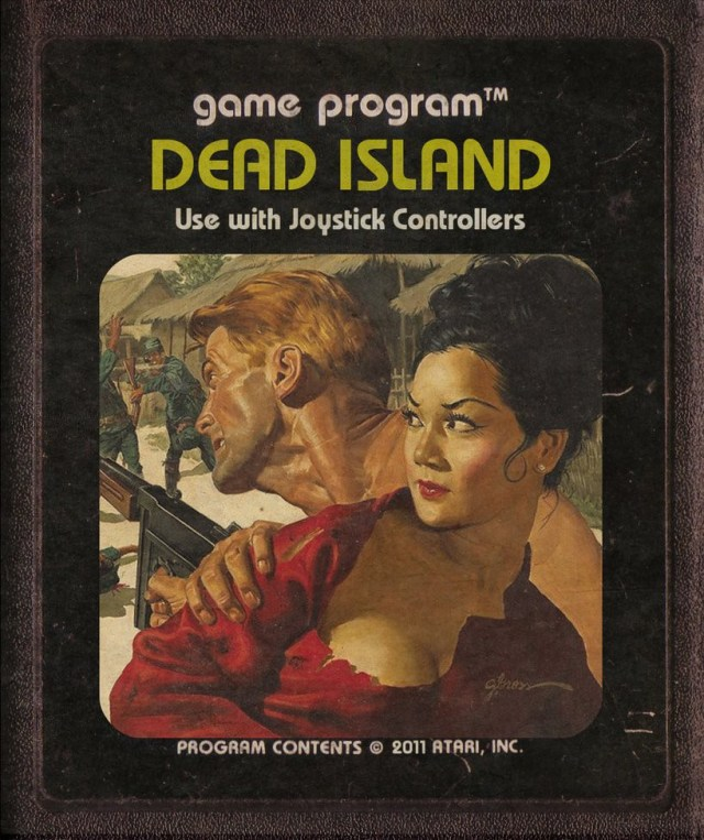 Dead Island Atari Cartridge