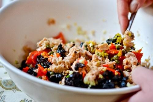 Israeli Couscous Tuna Salad-8
