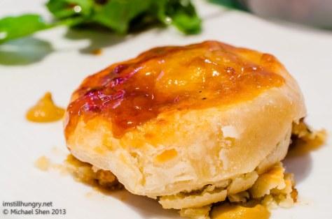 Ocean Room wagyu beef pie