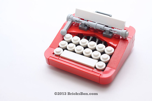 BricksBen - LEGO Typewriter - 0