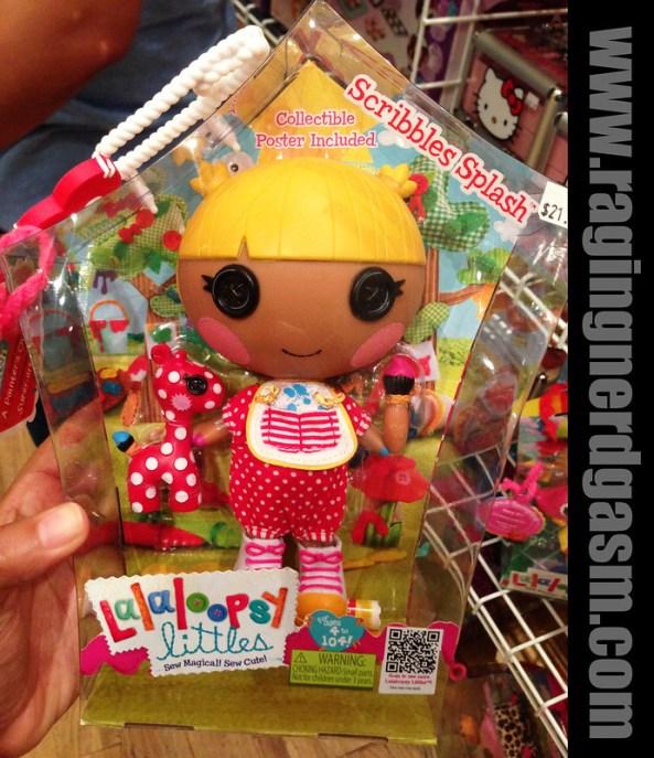 Lalaloopsy littles Dolls Scribbles Splash