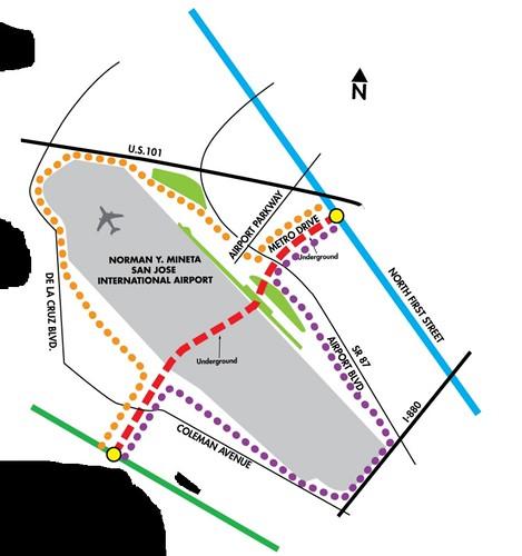 Mineta Airport people move
