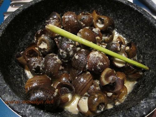 Ginataang Kuhol @ Smokin' Hot BBQ