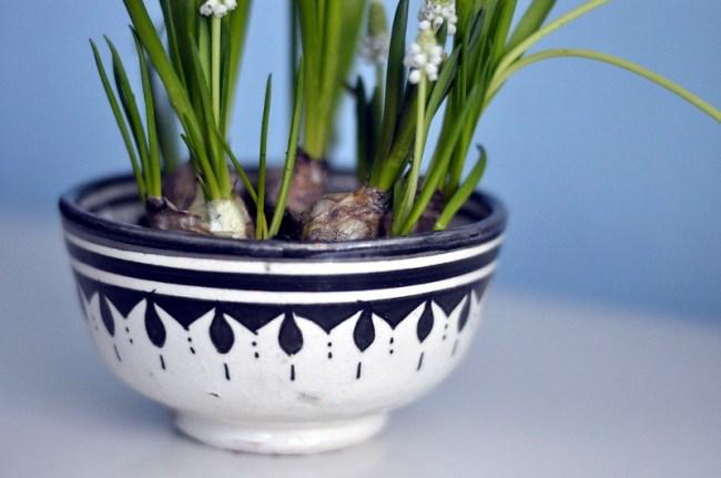 Keramikskål från Marockobazar